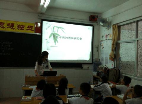 学校预防登革热工作总结