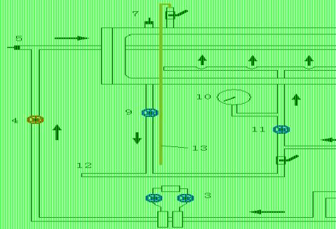 空气蒸汽给热系数测定实验报告