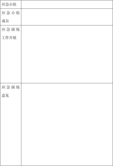 防洪防汛应急预案演练方案