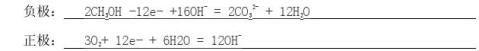 高中化学必修二重点方程式总结