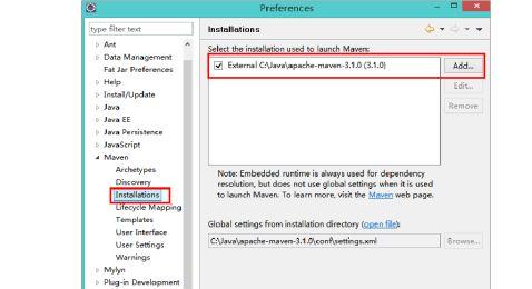 Eclipse初次java开发问题总结4Maven使用问题汇总