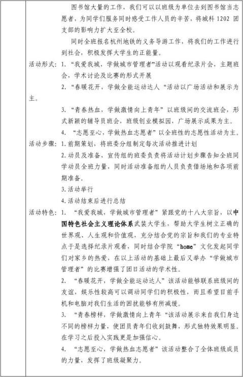 城科120220xx团日活动立项申请