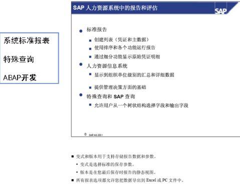 SAPHR开发总结1