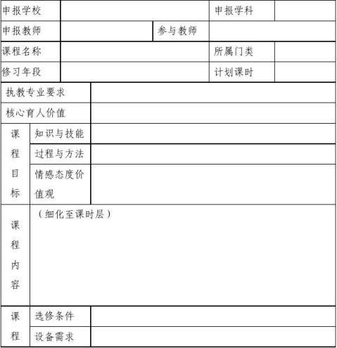 崇明县高中英语学科校本课程征集评比活动实施方案