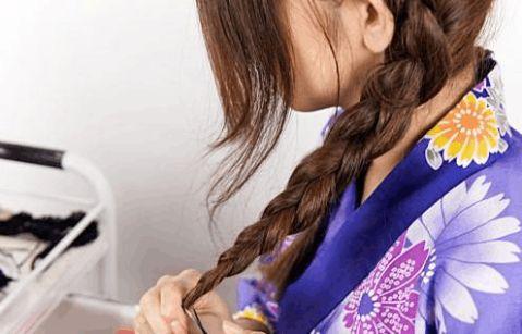 最是那一低头的温柔化妆学校教你日系温柔盘发