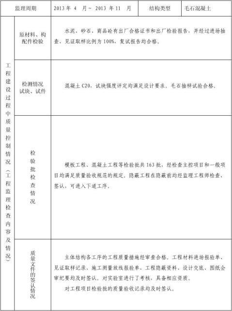 水利工程评估报告