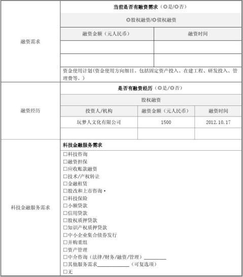 中国创新创业大赛商业计划书