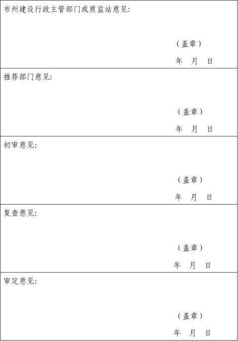 芙蓉奖申报表