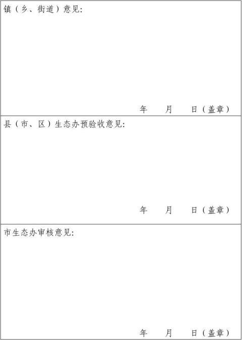 市级生态村申报材料
