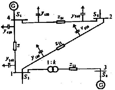 电力系统分析潮流实验报告