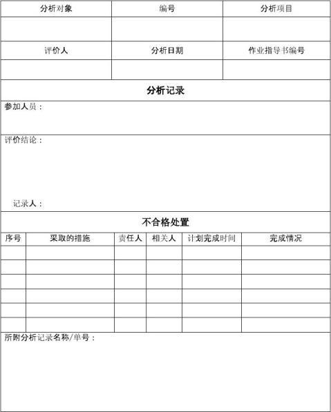 测量系统分析报告