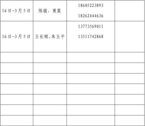 春节放假停工申请1